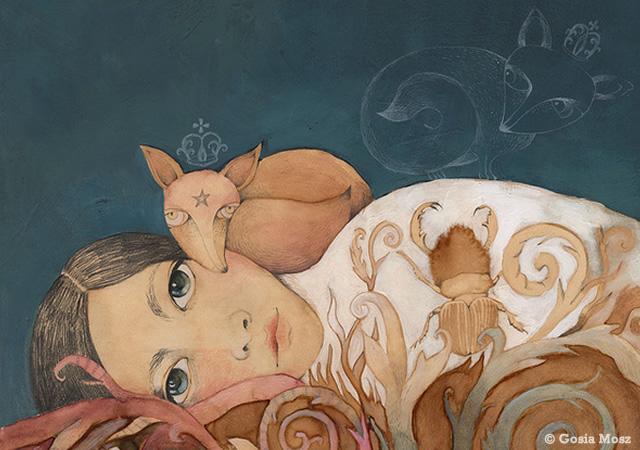 Illustrazione by Gosia Mosz