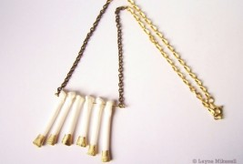 Bone necklace