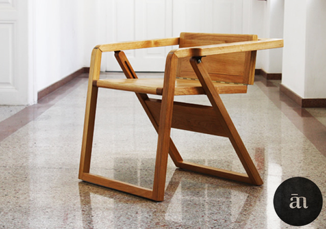 Flatty folding chair