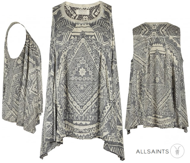 All Saints graphic tee