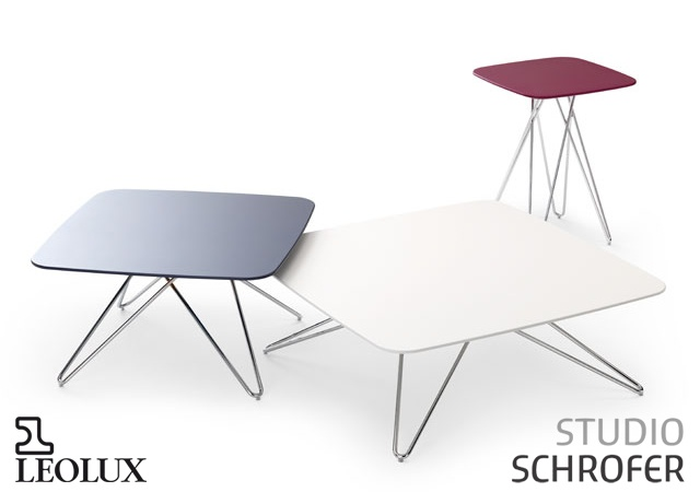 Cimber side tables | Image courtesy of Studio Schrofer - Leolux