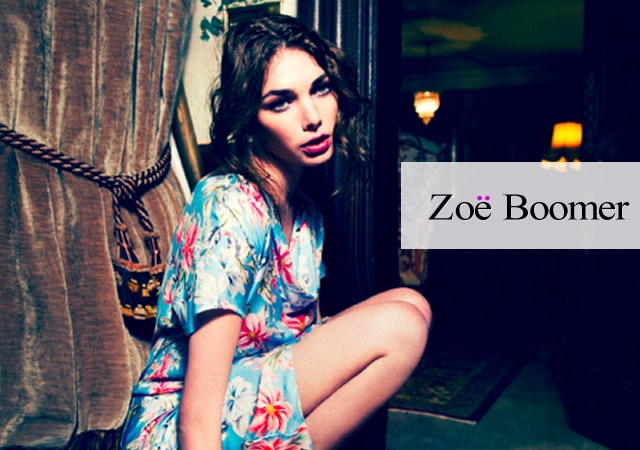 Zoe Boomer spring/summer 2012 | Image courtesy of Zoe Boomer
