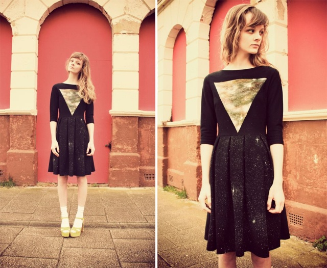 WeAreHairyPeople galaxy dress