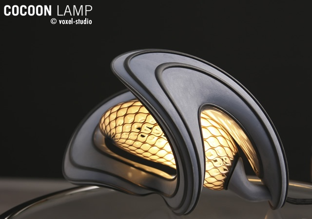 Cocoon Lamp | Image courtesy of Voxel studio