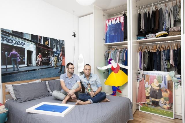 Milan closets | Image courtesy of Pietro Baroni
