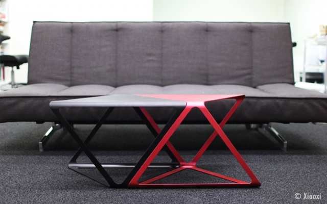 X-Plus coffee table | Image courtesy of Xiaoxi