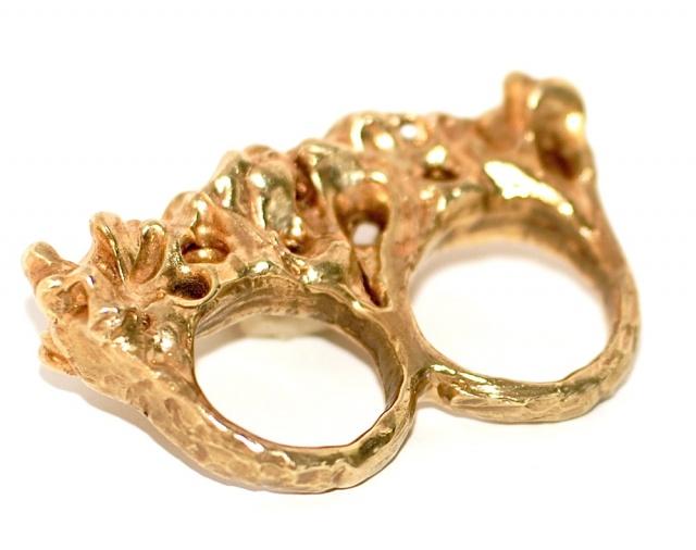 Nettie Kent multifinger ring