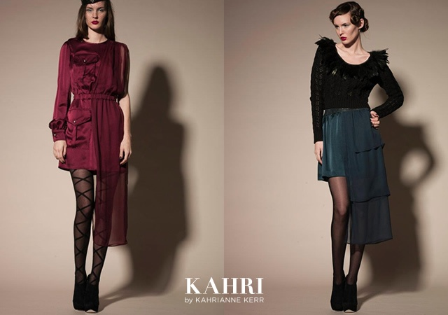Kahri fall/winter 2012 | Image courtesy of KahriAnne Kerr