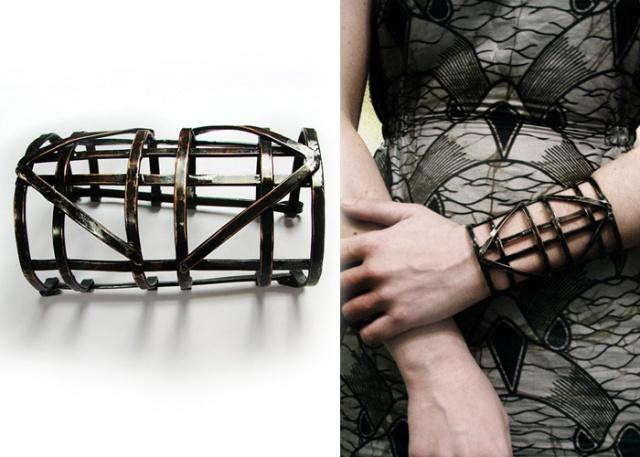 Automaton Warrior Cage Bracelet