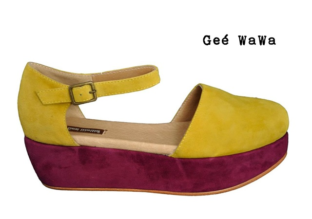GeeWaWa Daphne wedges | Image courtesy of GeeWaWa