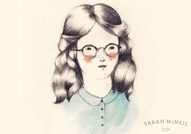 Drawings by Sarah McNeil