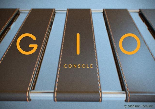 GIO console | Image courtesy of Vladimir Tomilov