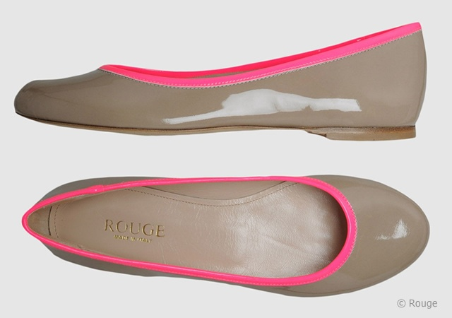Rouge neon flats | Image courtesy of Rouge