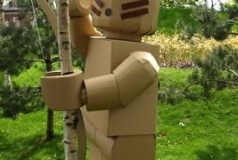 Cardboard Lego man - thumbnail_4