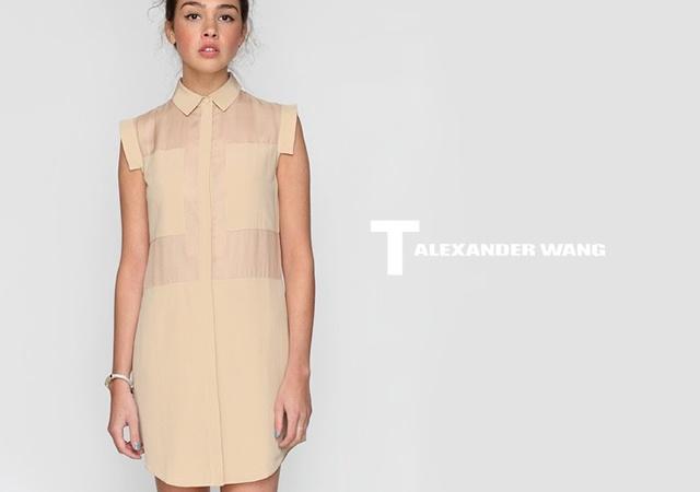 T by Alexander Wang dress | Image courtesy of Alexander Wang