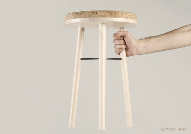 Tripod stool | Image courtesy of Martin Bahrij