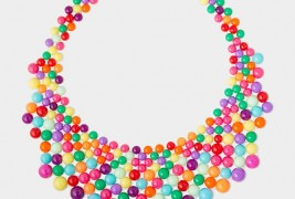 Audrey multicolor necklace - thumbnail_1