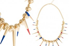 Skull and spike necklace - thumbnail_2