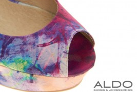 Aldo printed wedges - thumbnail_2