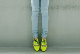 Fluo derby shoes - thumbnail_5