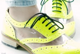 Fluo derby shoes - thumbnail_6