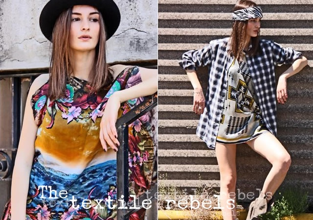 The Textile Rebels spring/summer 2013
