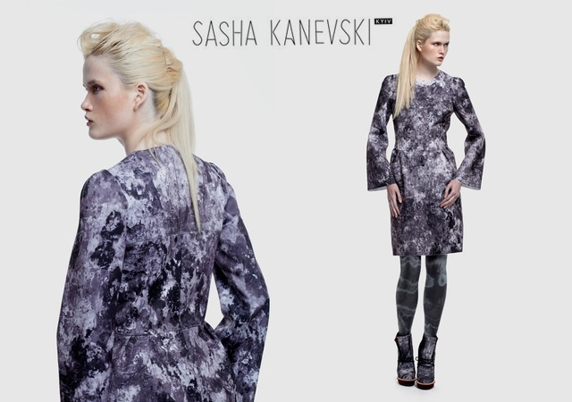 Sasha Kanevski fall/winter 2012 | Image courtesy of Inna Franco