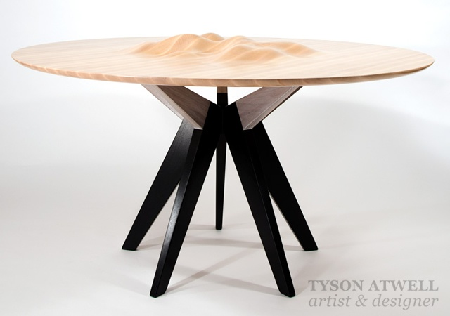 Ocean's Edge table | Image courtesy of Tyson Atwell