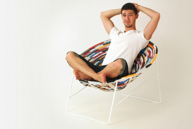 Rag chair | Image courtesy of Dani Catalan