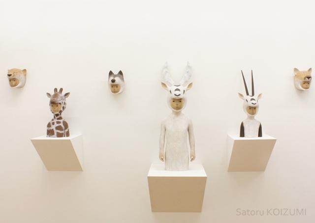 Le opere scultoree di Satoru Koizumi