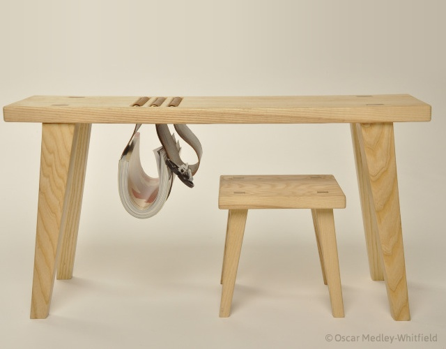 Cow and Calf: desk and stool | Image courtesy of Oscar Medley-Whitfield