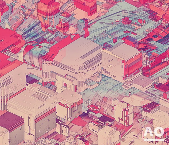 Pixel City by Atelier Olschinsky | Image courtesy of Atelier Olschinsky