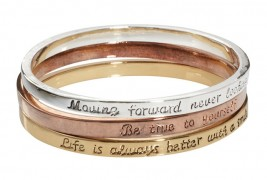 Engraved bangle set - thumbnail_3