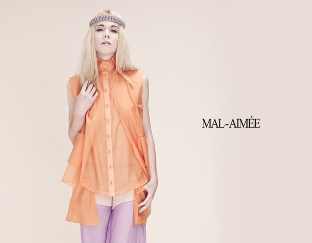 Mal-Aimée spring/summer 2013 | Image courtesy of Quentin Legallo