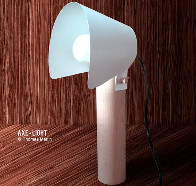 Axe Light lamp | Image courtesy of Thomas Merlin