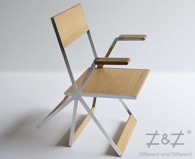 Tripatte chair | Image courtesy of Different and Different