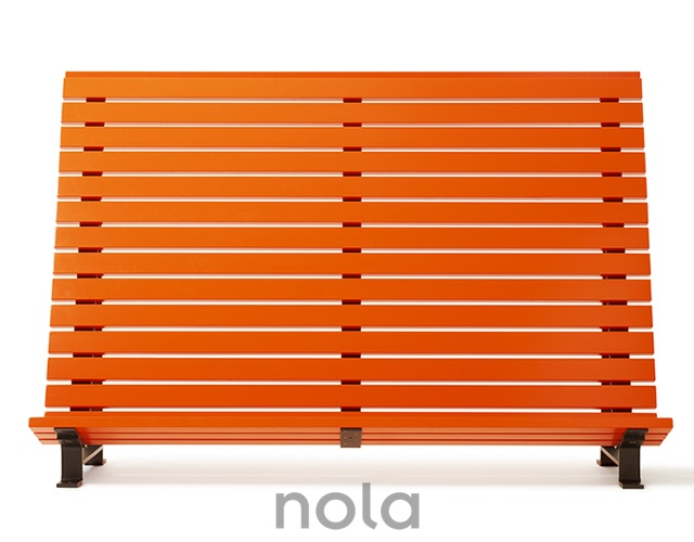 Planka fence seating | Image courtesy of Nola Industrier