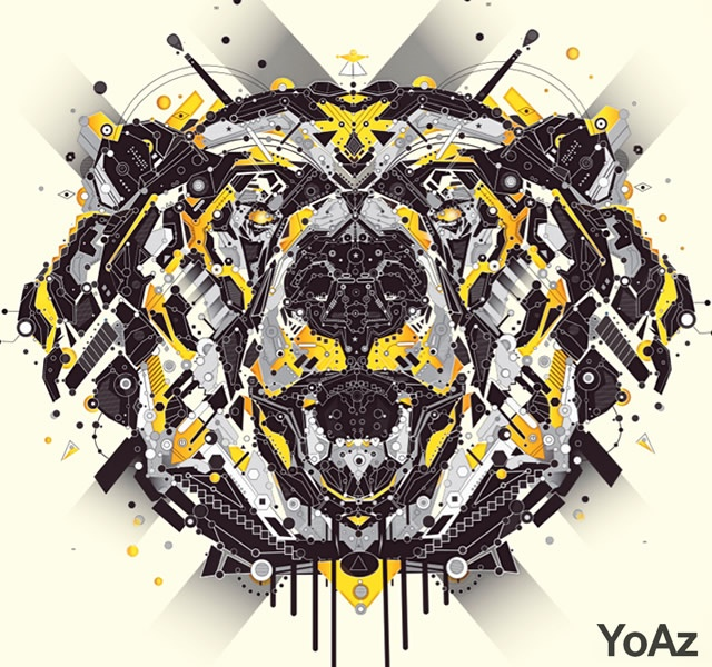 Animals by YoAz | Image courtesy of YoAz