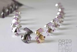 Origami rabbit necklace - thumbnail_2