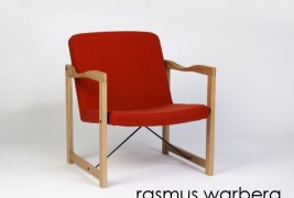 Easy chair by Rasmus Warberg - thumbnail_2