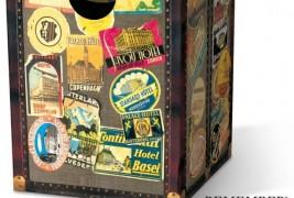 Globetrotter cardboard stool - thumbnail_3