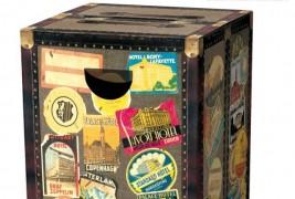 Globetrotter cardboard stool - thumbnail_4