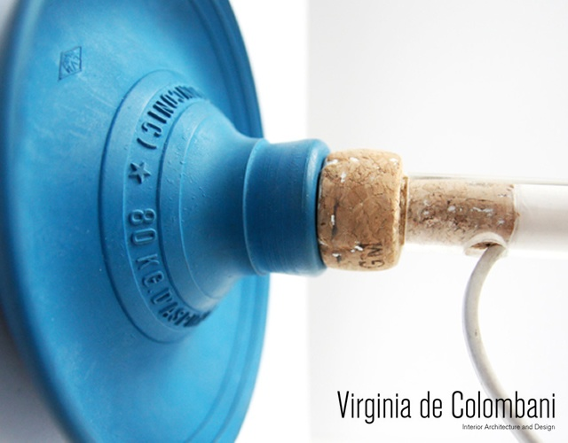 Plunger lamp | Image courtesy of Virginia de Colombani