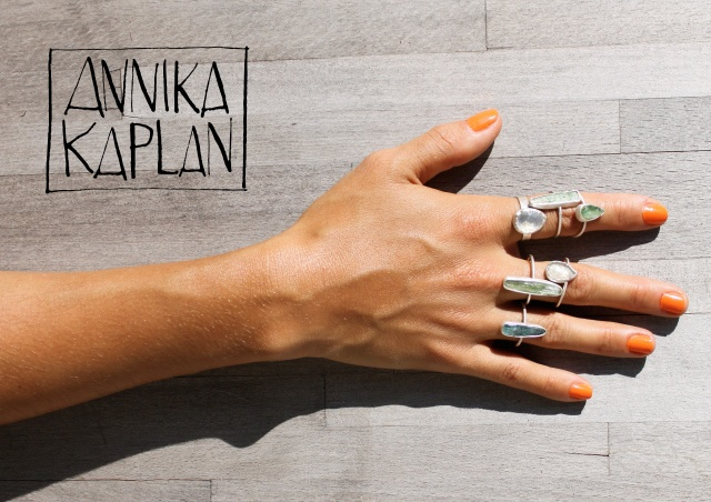 Annika Kaplan Jewelry | Image courtesy of Annika Kaplan