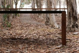 Walnut & Steel table - thumbnail_7