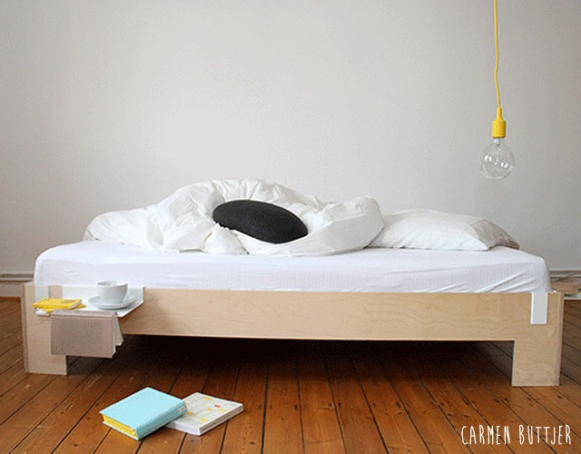 Tagedieb bed | Image courtesy of Carmen Buttjer