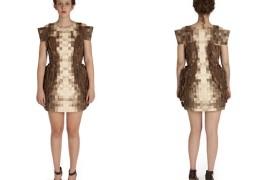 Elizabeth Meiklejohn wood dress - thumbnail_1