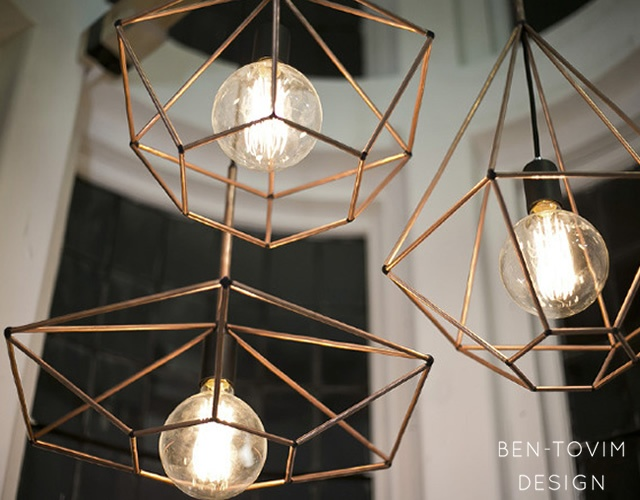 Rough Diamond pendant lamp