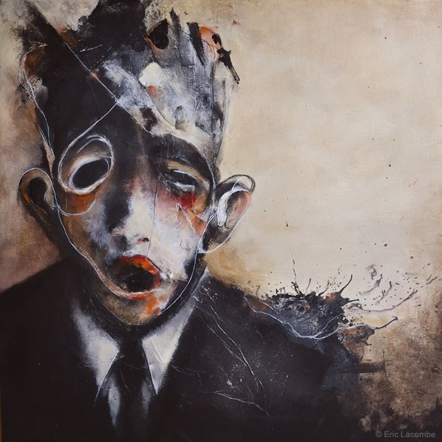 Painting by Eric Lacombe | Image courtesy of Eric Lacombe