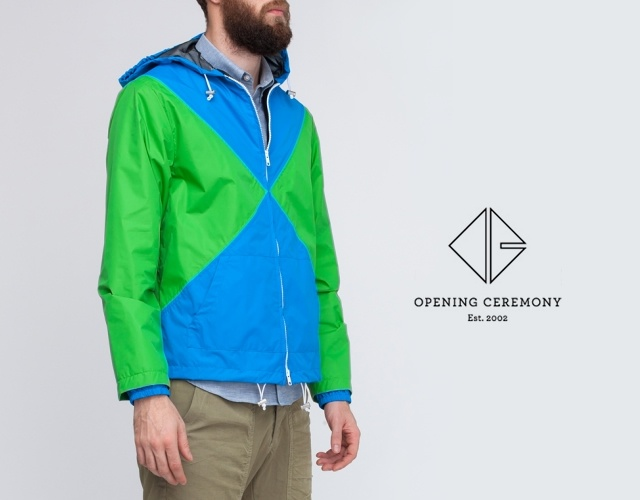 Opening Ceremony raincoat | Image courtesy of Opening Ceremony
